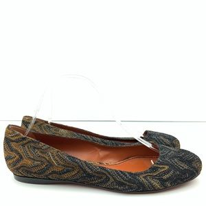 New Missoni flats size 39 9 ballet made in Italy